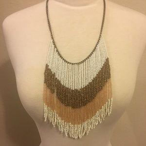 Francesca's fringe necklace
